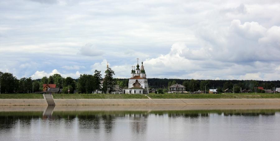 Вид на Дымково