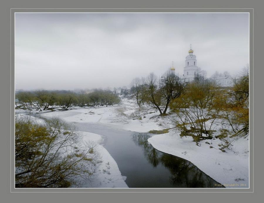 Начало марта в Вязьме
