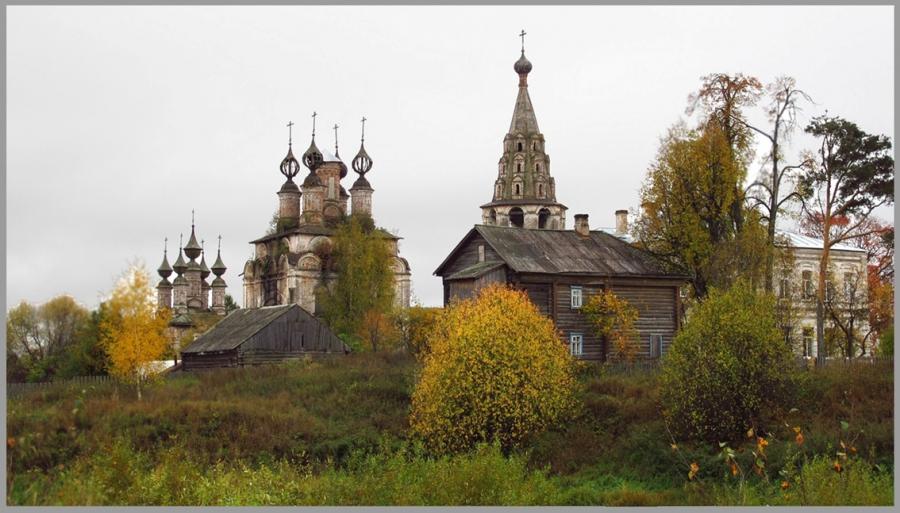 Воскресенский монастырь. г.Солигалич.