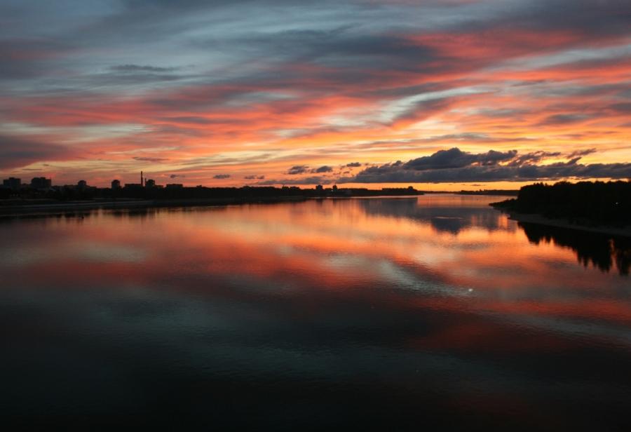 Вечерняя Волга