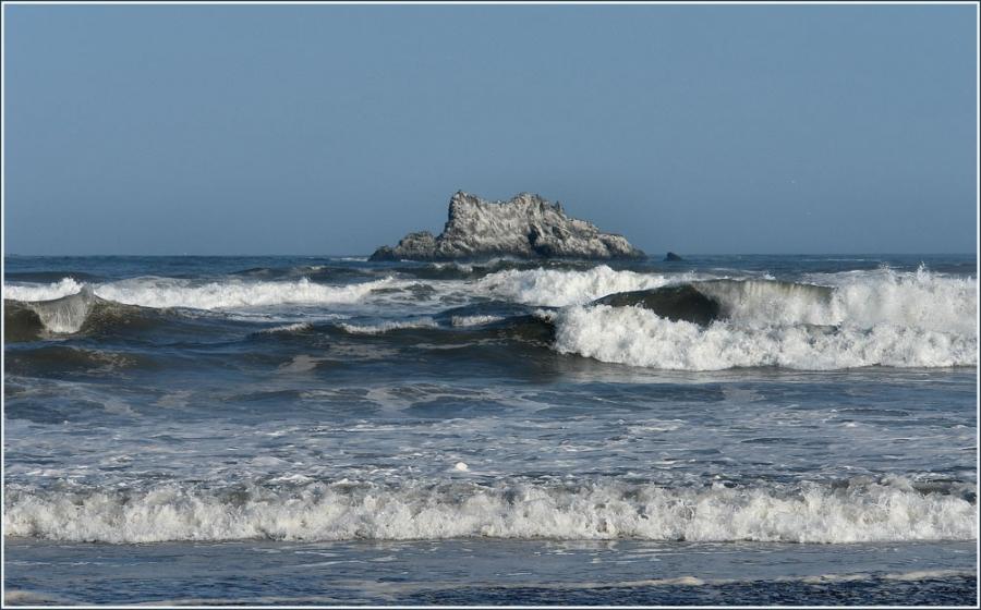 Океанская волна.