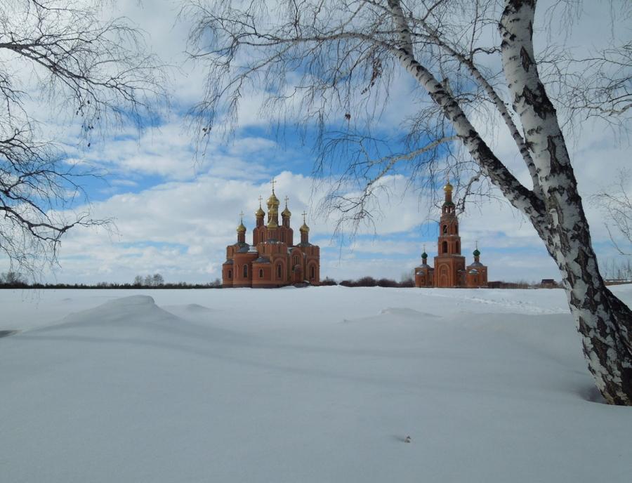 Среди снегов