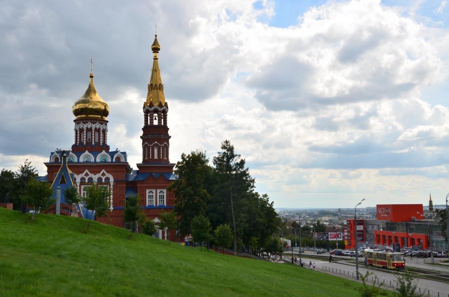 Ижевск. Вид города.