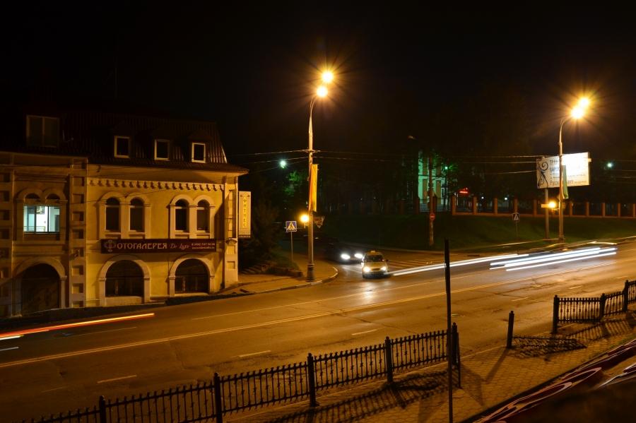 Уголок ночного города (Сергиев Посад)