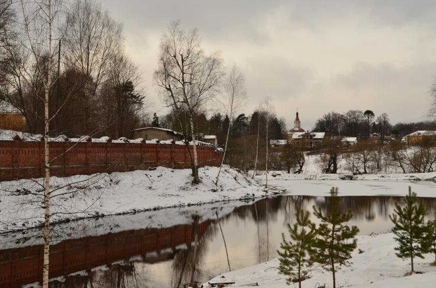 В окрестностях Гефсиманского Черниговского скита