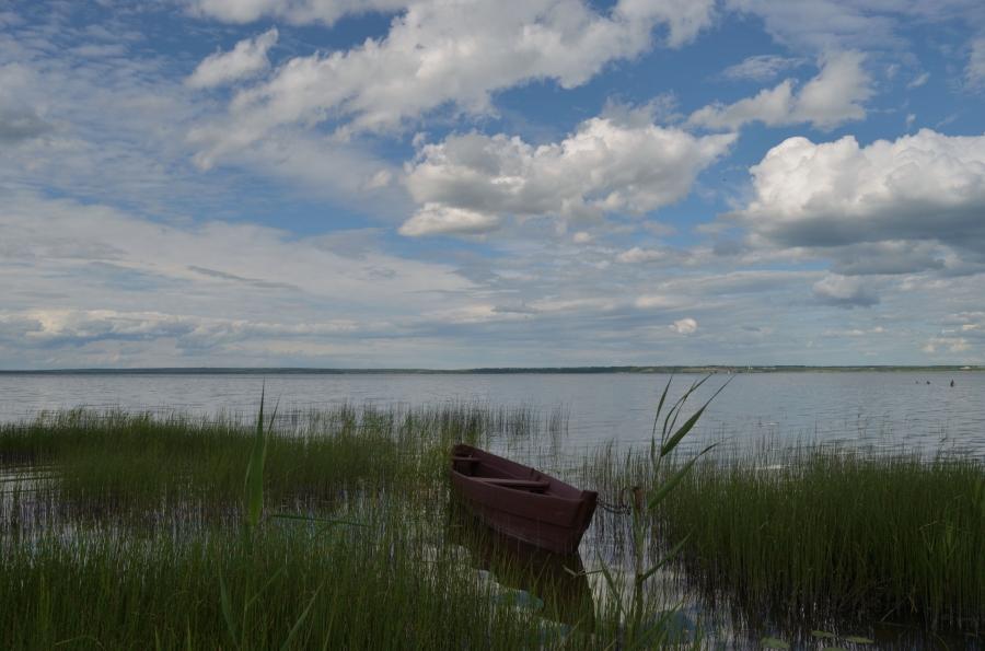 На Плещеевом озере.