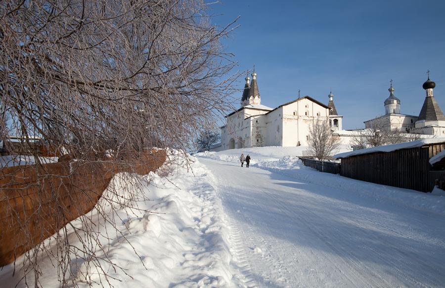 Зима в Ферапонтово