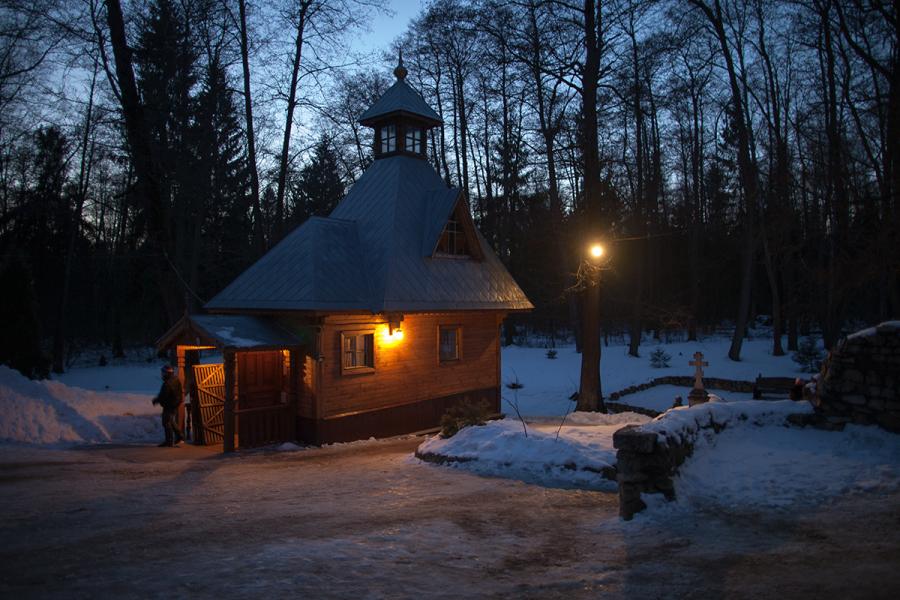 Святой источник прп. Тихона Калужского
