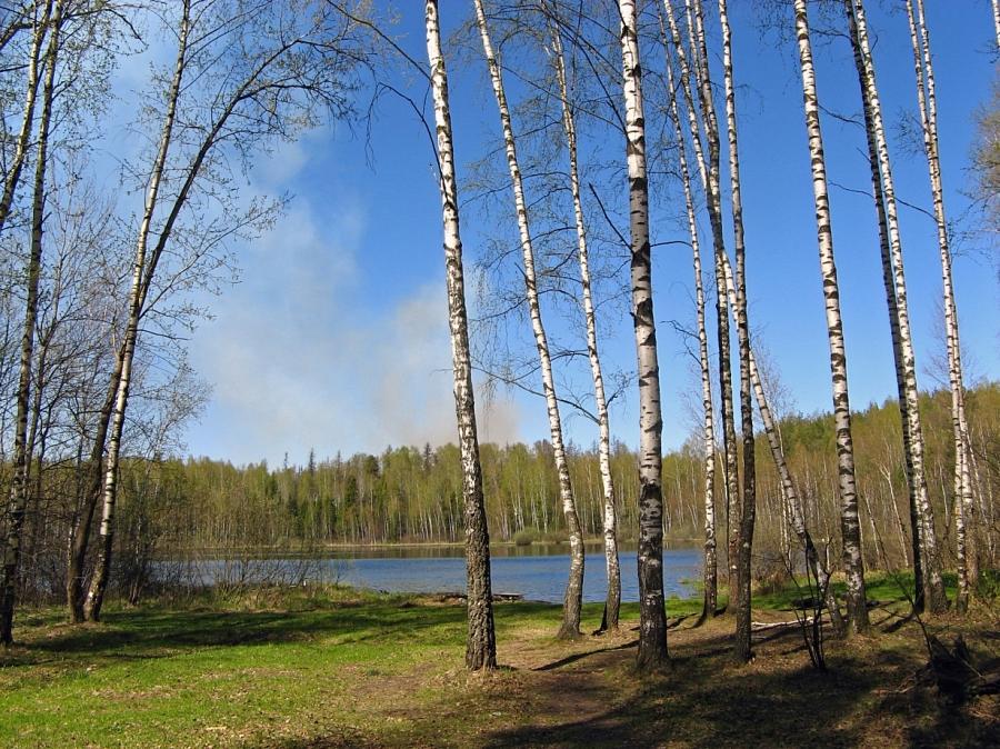 Озеро в Топорково
