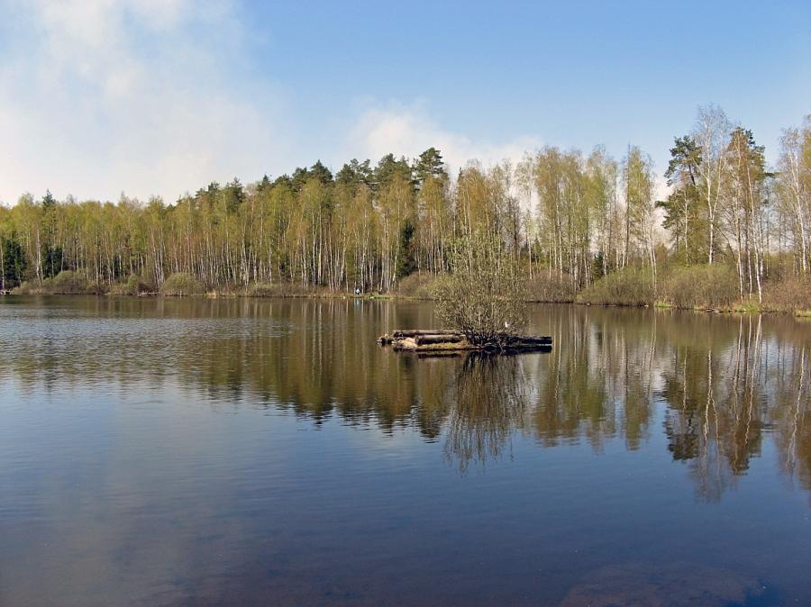 Второе Топорковское озеро.