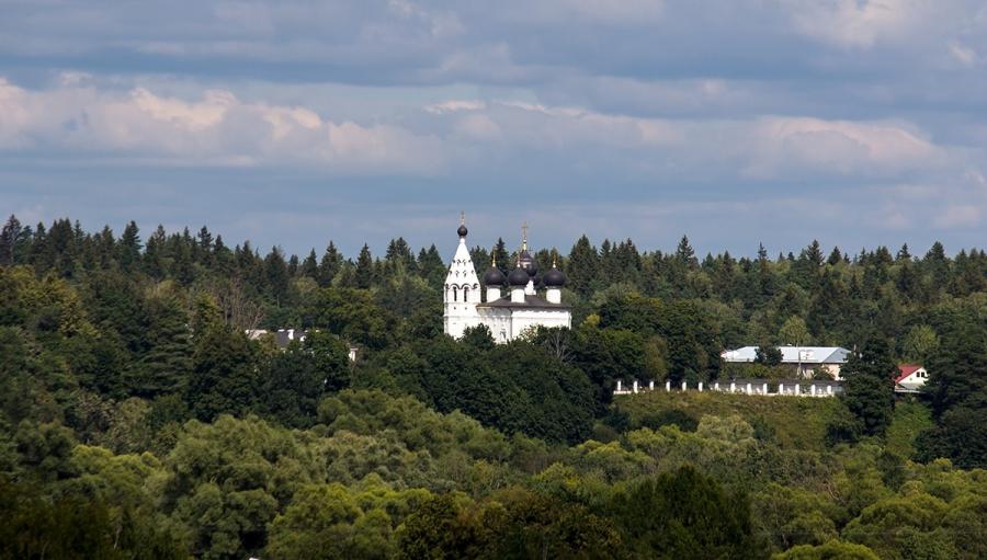 Верея.Спасский монастырь.