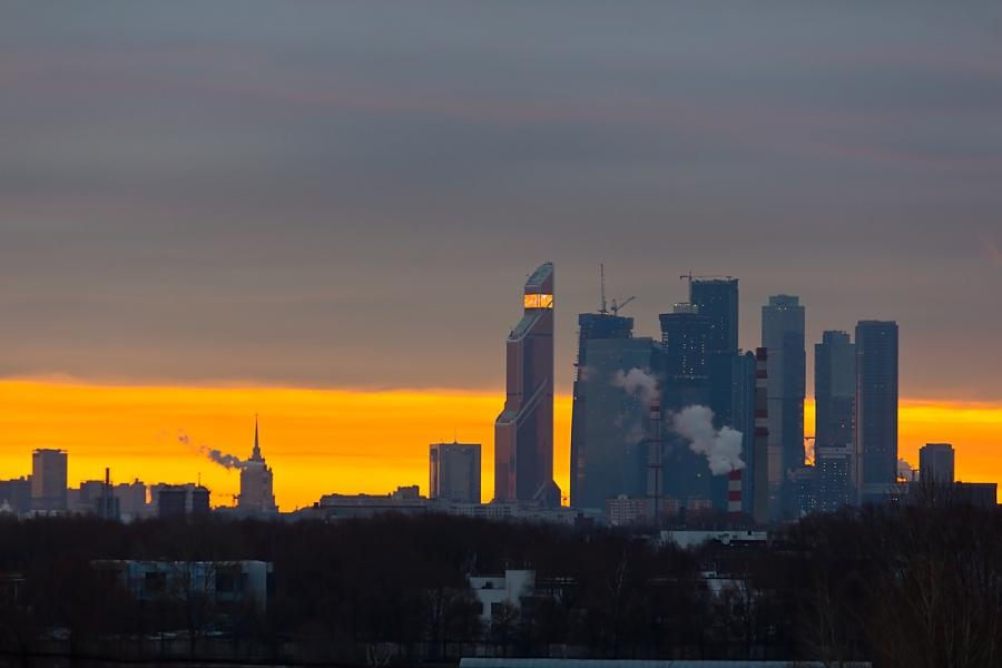 Московское утро.