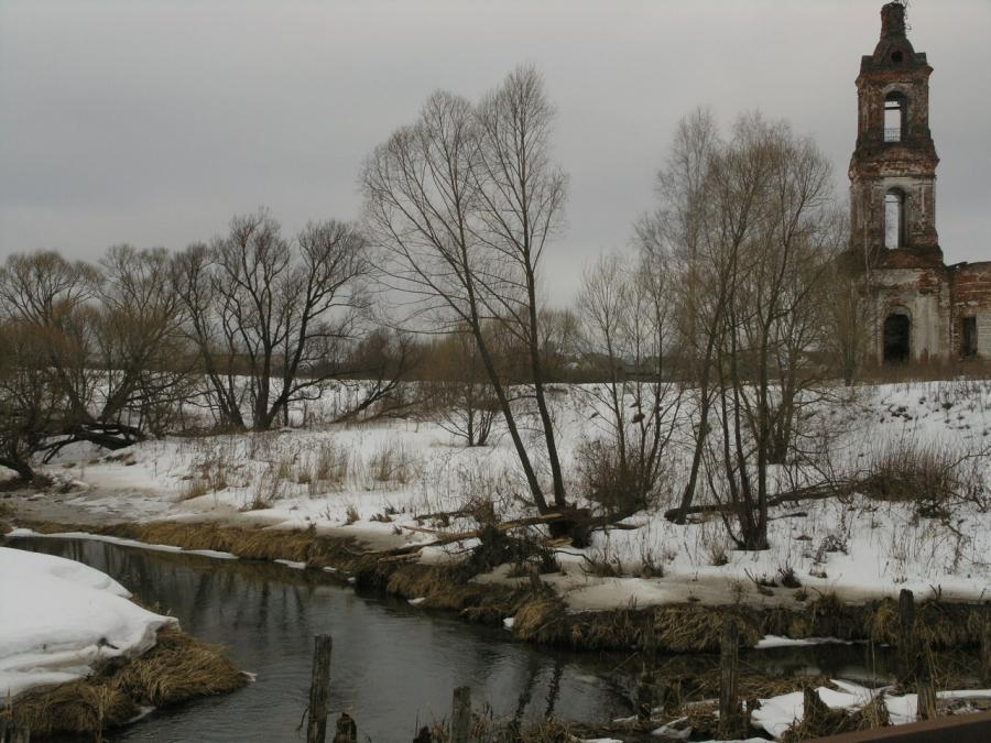 река Парша в Никульском