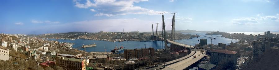 Панорама Владивостока