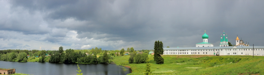 Озеро. Александро-Свирский монастырь (3)