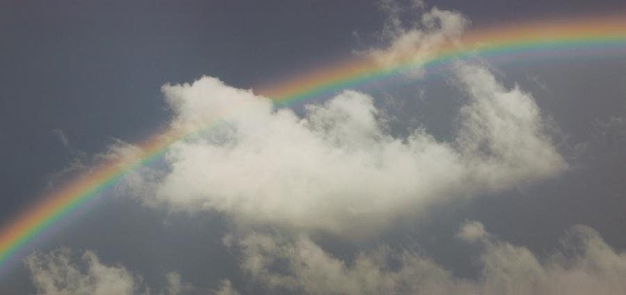 Облако и радуга. 16.06.16.