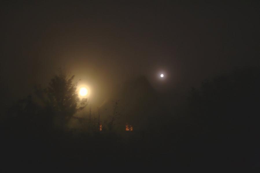 Вечер. Туман