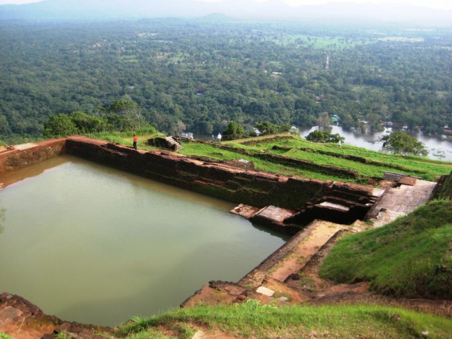Шри-Ланка! Вид с горы-дворца Сигирия)