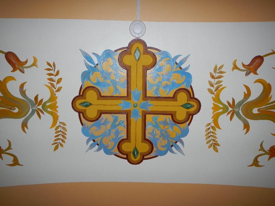 Церковные росписи.