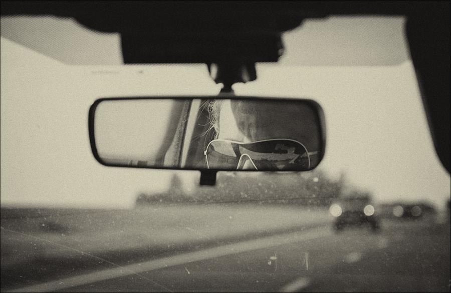 В дороге..