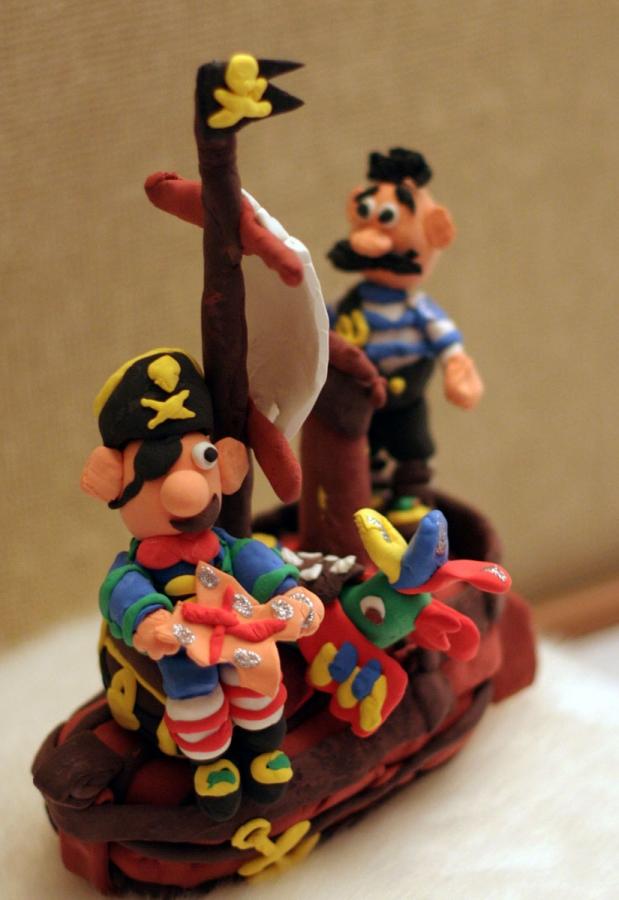 Пираты из пластелина