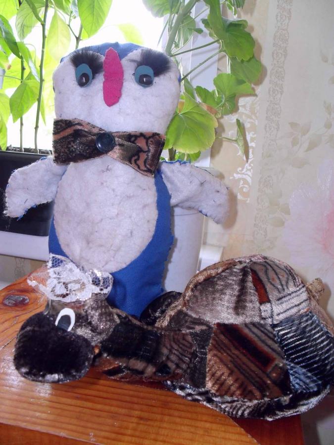 Пингвин и черепаха