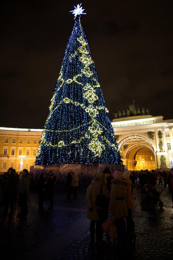 Ёлка на Дворцовой площади
